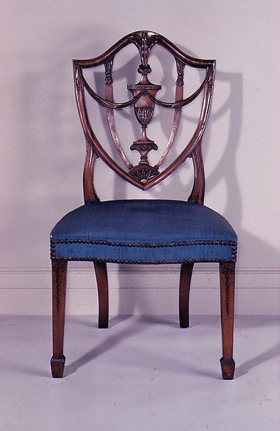 Side Chair, Attributed to Samuel McIntire (1757–1811), Mahogany, ash, birch, white pine, American