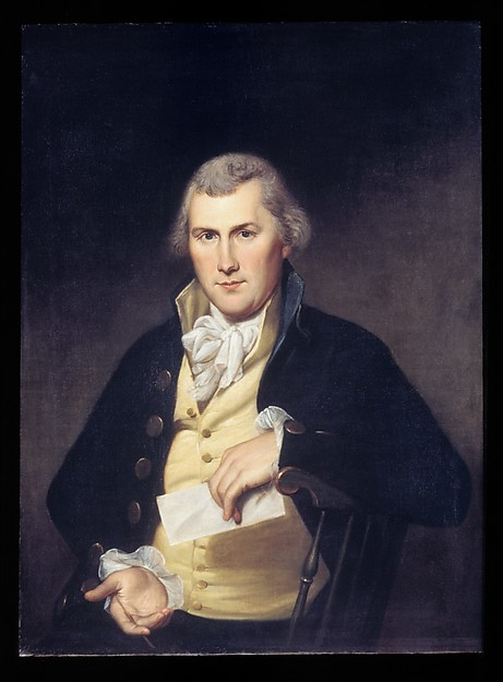 Elie Williams, Charles Willson Peale (American, Chester, Maryland 1741–1827 Philadelphia, Pennsylvania), Oil on canvas, American