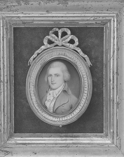 Portrait of a Gentleman, James Peale (American, Chestertown, Maryland 1749–1831 Philadelphia, Pennsylvania), Watercolor on ivory, American