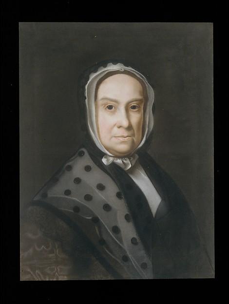 Mrs. Ebenezer Storer (Mary Edwards), John Singleton Copley (American, Boston, Massachusetts 1738–1815 London), Pastel on laid paper, mounted on canvas, American