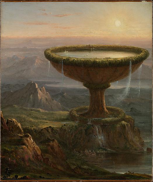 The Titan's Goblet, Thomas Cole (American, Lancashire 1801–1848 Catskill, New York), Oil on canvas, American