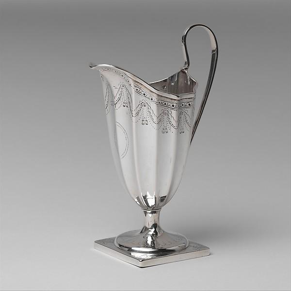 Creampot, Paul Revere Jr. (American, Boston, Massachusetts 1734–1818 Boston, Massachusetts), Silver, American