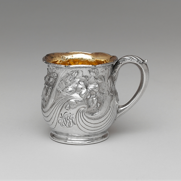 Cup, Gorham Manufacturing Company (American, 1831–present), Silver and gilding, American