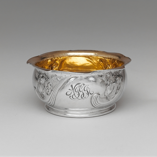 Bowl, Gorham Manufacturing Company (American, 1831–present), Silver and gilding, American