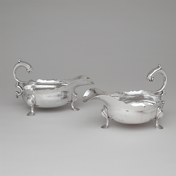 Sauceboat, Paul Revere Jr. (American, Boston, Massachusetts 1734–1818 Boston, Massachusetts), Silver, American