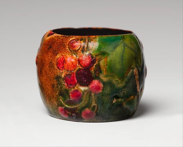Bowl, Designed by Louis Comfort Tiffany (American, New York 1848–1933 New York), Enamel on copper, American