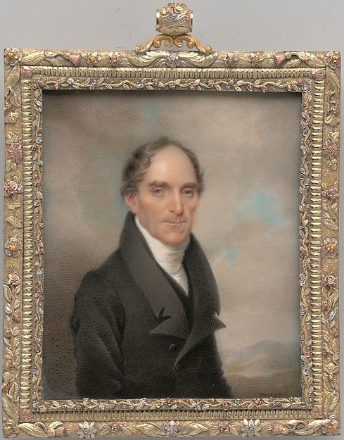Dr. Francis Kinloch Huger, Charles Fraser (1782–1860), Watercolor on ivory, American