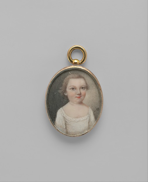 Thomas Middleton, Mary Roberts (died 1761 Charleston, South Carolina), Watercolor on ivory, American