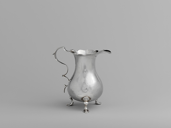 Creampot, Benjamin Burt (American, Boston, Massachusetts 1729–1805 Boston, Massachusetts), Silver, American