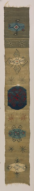 Sabatos weaving, Wendell Volk (1884–1953), wool, woven, American