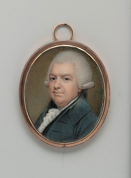 Stephen Hooper, Henry Pelham (American, Boston, Massachusetts 1749–1806 Dublin), Watercolor on ivory, American