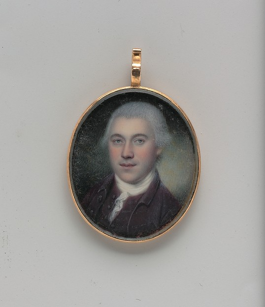 Joseph Donaldson, Charles Willson Peale (American, Chester, Maryland 1741–1827 Philadelphia, Pennsylvania), Watercolor on ivory, American