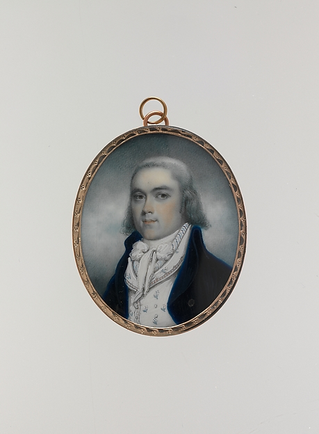 William Loughton Smith, Archibald Robertson (American, Moneymusk, Scotland 1765–1835 New York), Watercolor on ivory, American