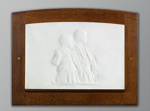 The Children of Prescott Hall Butler, Augustus Saint-Gaudens (American, Dublin 1848–1907 Cornish, New Hampshire), Marble, American