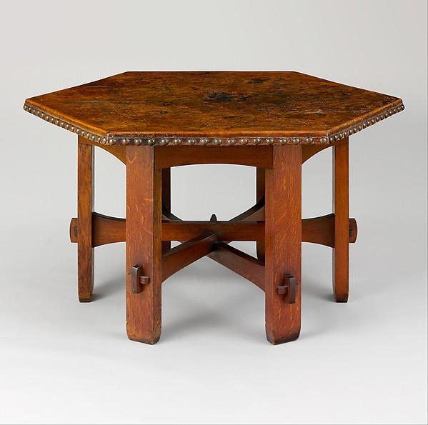 Library Table, Gustav Stickley (American, Osceola, Wisconsin 1858u20131942  Syracuse,