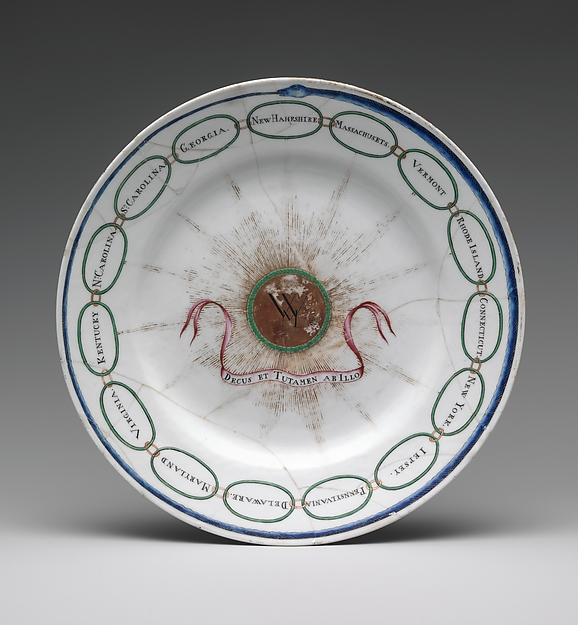 Plate, Porcelain, Chinese