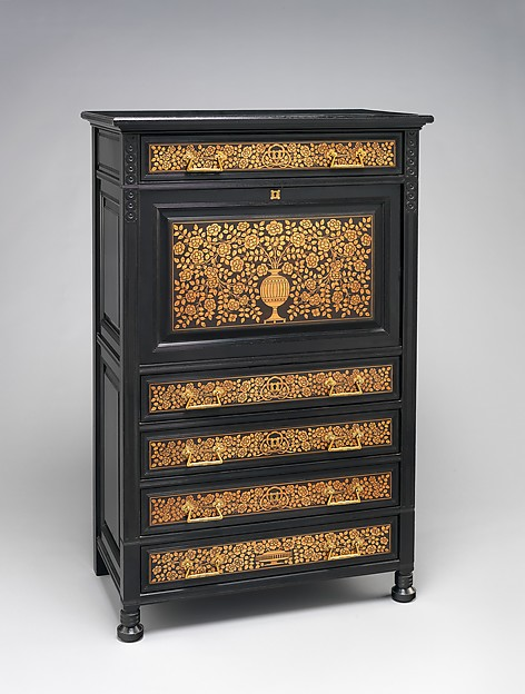 Secretary From The Jay Gould House, New York City, Herter Brothers (German,