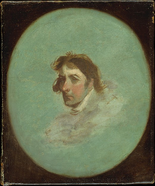 Portrait of the Artist, Gilbert Stuart (American, North Kingston, Rhode Island 1755–1828 Boston, Massachusetts), Oil on canvas, American