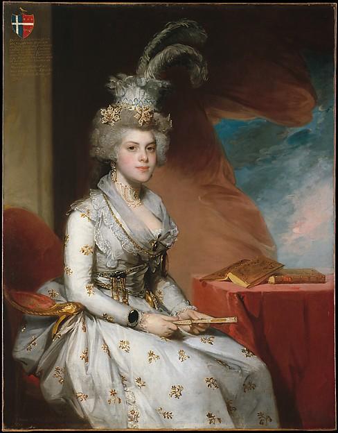 Matilda Stoughton de Jaudenes, Gilbert Stuart (American, North Kingston, Rhode Island 1755–1828 Boston, Massachusetts), Oil on canvas, American