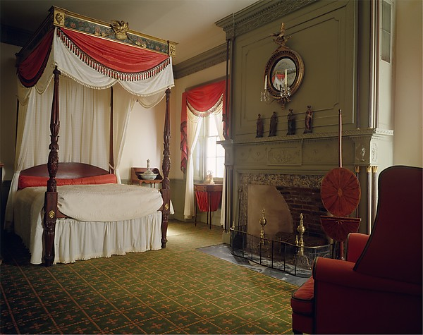 Parlor from the James Duncan Jr. house, Haverhill, Massachusetts, White pine and plaster, American