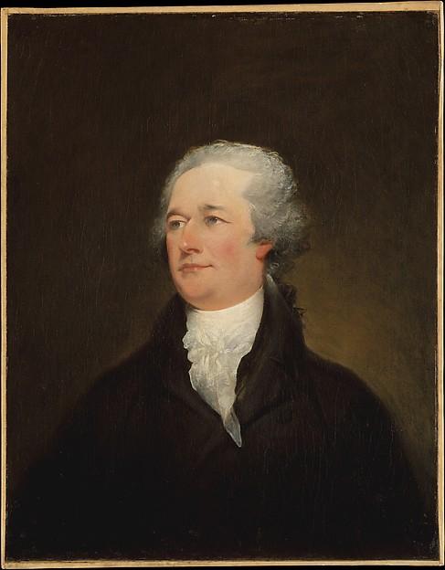 Alexander Hamilton, John Trumbull (American, Lebanon, Connecticut 1756–1843 New York), Oil on canvas, American