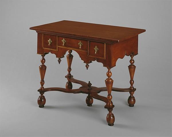 Dressing table, Cherry, yellow poplar, birch, soft maple, red oak, ash, American