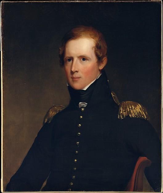 Major John Biddle, Thomas Sully (American, Horncastle, Lincolnshire 1783–1872 Philadelphia, Pennsylvania), Oil on canvas, American
