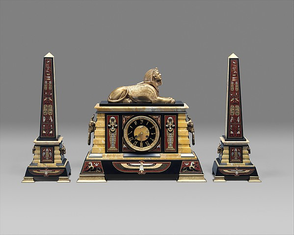 Clock, Tiffany & Co. (1837–present), Marble, bronze, American