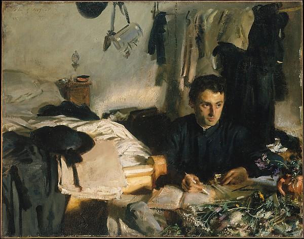 Padre Sebastiano, John Singer Sargent (American, Florence 1856–1925 London), Oil on canvas, American