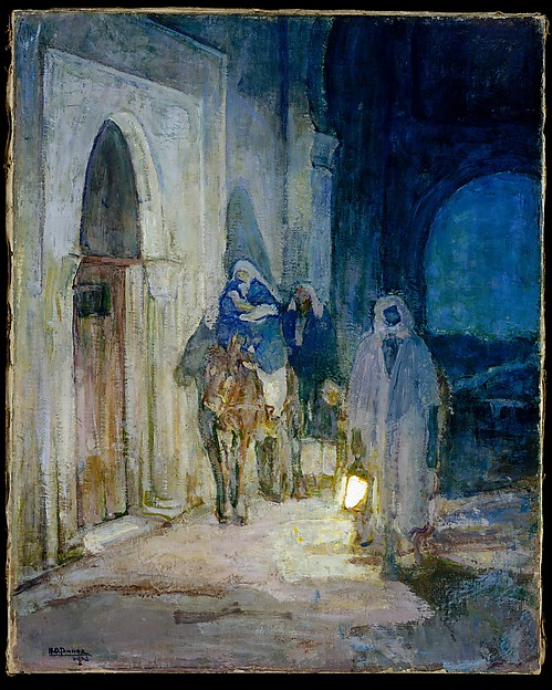 Flight Into Egypt, Henry Ossawa Tanner (American, Pittsburgh, Pennsylvania 1859–1937 Paris), Oil on canvas, American
