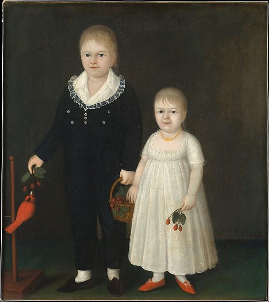 Edward and Sarah Rutter, Joshua Johnson (American, ca. 1763–ca. 1824), Oil on canvas, American