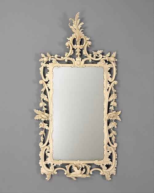 Looking Glass, John Elliott Sr. (1713–1791), Pine, American