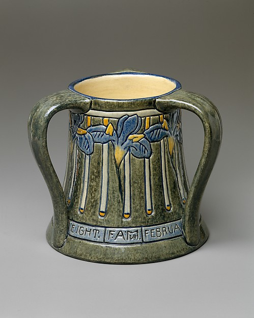 Tyg, Newcomb Pottery (1894–1940), Painted and glazed earthenware, American