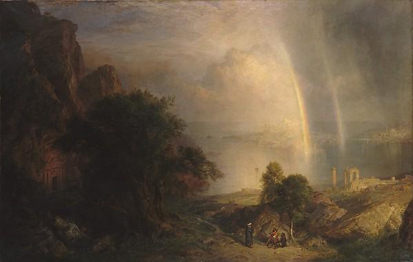 The Aegean Sea, Frederic Edwin Church (American, Hartford, Connecticut 1826–1900 New York), Oil on canvas, American