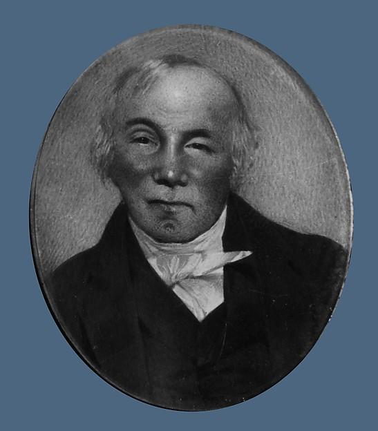 Levinus Clarkson, Thomas Seir Cummings (American (born England), Bath 1804–1894 Hackensack, New Jersey), Watercolor on ivory, American