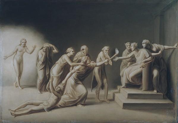 The Calumny of Apelles, John Vanderlyn (American, Kingston, New York 1775–1852 Kingston, New York), Oil on canvas, American