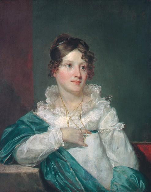 Mrs. Daniel DeSaussure Bacot, Samuel F. B. Morse (American, Charlestown, Massachusetts 1791–1872 New York), Oil on canvas, American