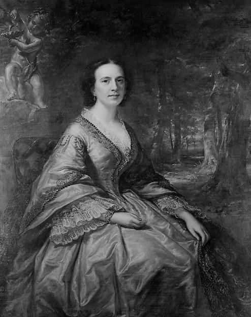 Mrs. Birdsall Cornell, Daniel Huntington (American, New York 1816–1906 New York), Oil on canvas, American