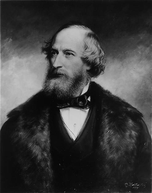 Cyrus W. Field, Daniel Huntington (American, New York 1816–1906 New York), Oil on canvas, American