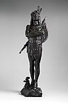 A Chief of the Multnomah Tribe, Hermon Atkins MacNeil (American, Everett, Massachusetts 1866–1947 Queens, New York), Bronze, American