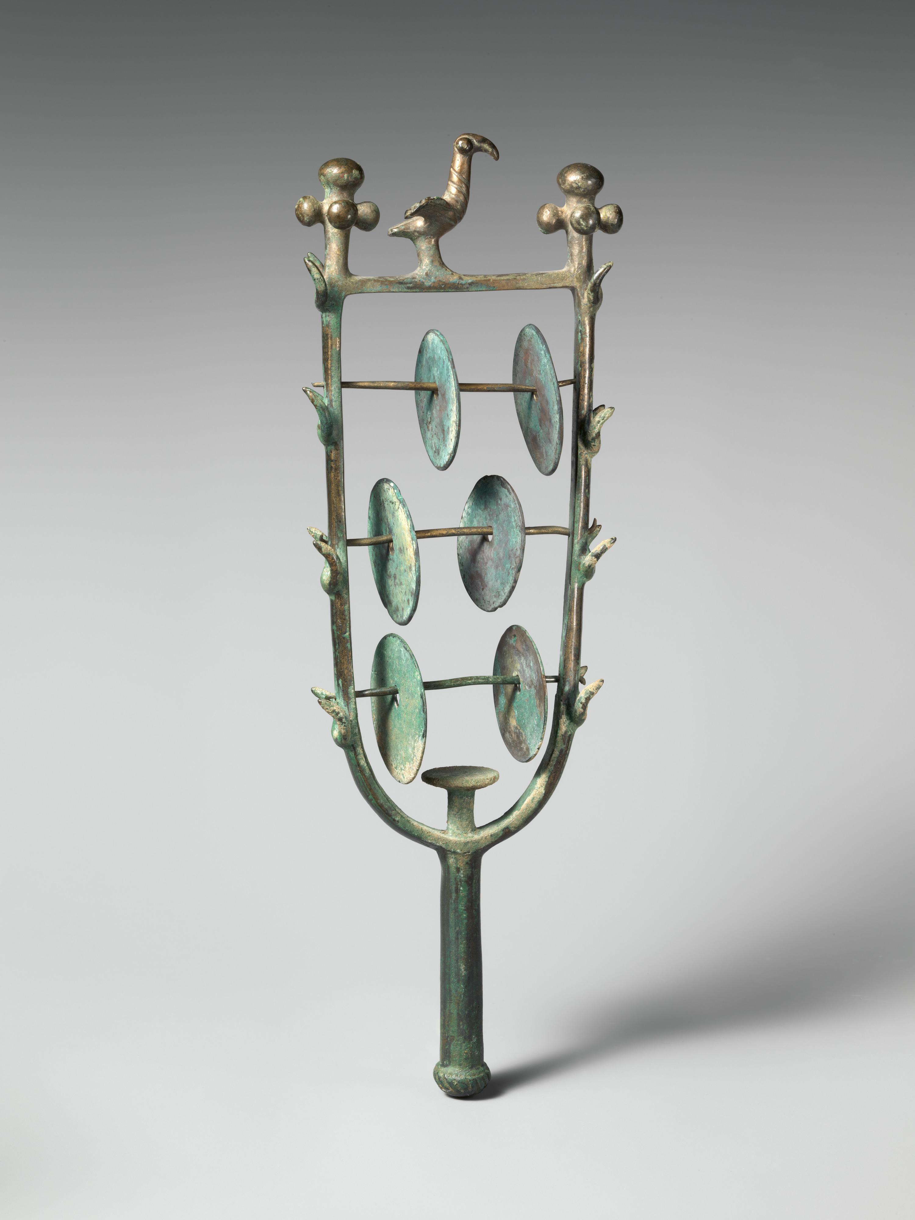 sistrum  rattle