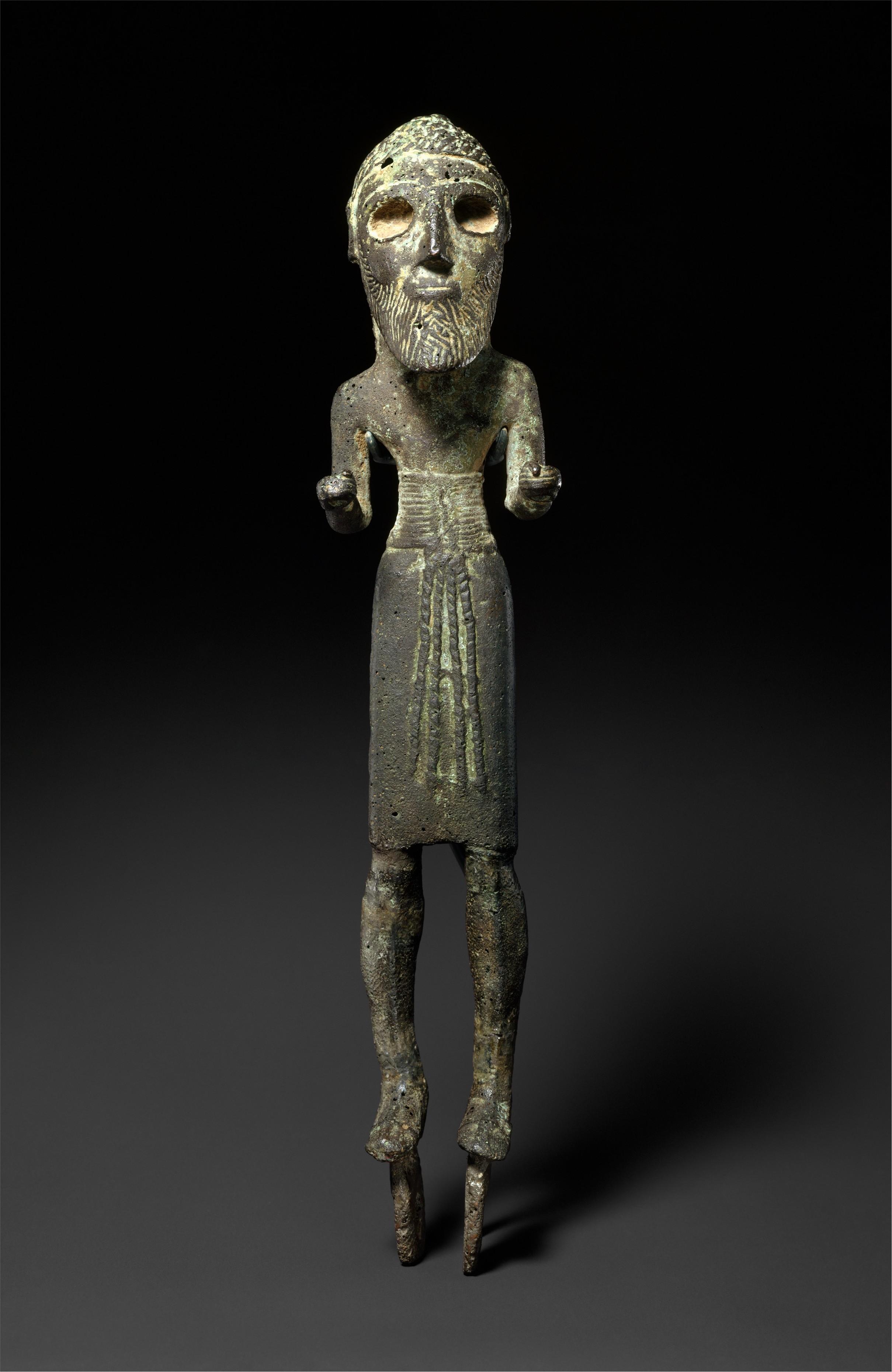 Standing warrior | Early Bronze Age | The Met