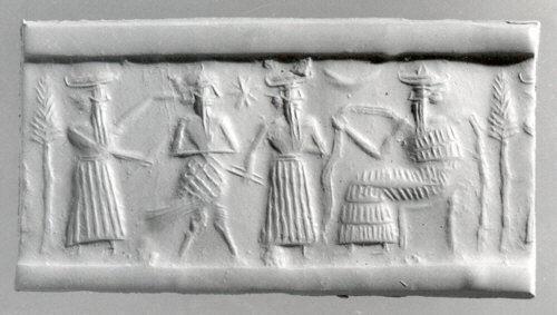 رسم أكادي يعود للفترة الواقعة بين عامي 2350 و 2150 قبل الميلاد