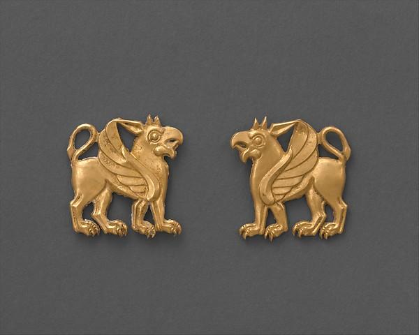 Dress ornament, Gold, Scythian
