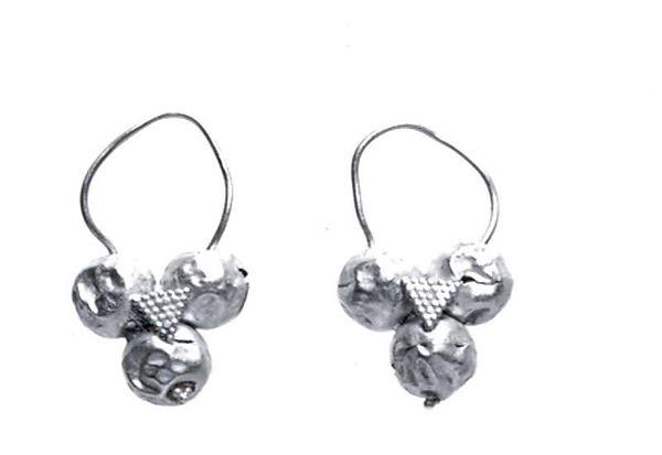 Earrings, Gold, Parthian
