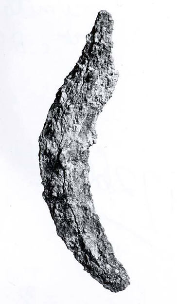 Sickle or pruning tool, Iron, Iran