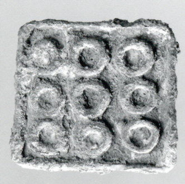 Stamp seal, Copper alloy, Bactria-Margiana Archaeological Complex