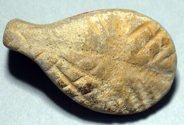 Amulet, Limestone, Halaf