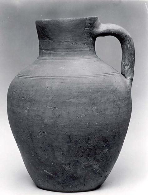 Jug, Ceramic, Sasanian or Islamic