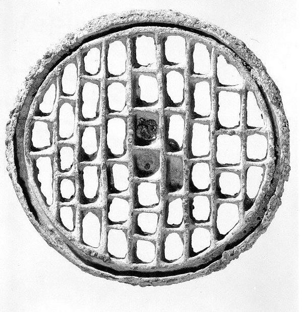 Compartmented stamp seal, Copper alloy, Bactria-Margiana Archaeological Complex